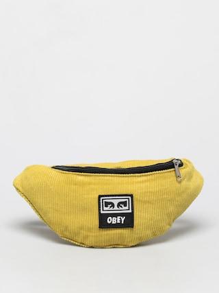 Borsetu0103 de bru00e2u OBEY Wasted Hip Bag (mellow yellow)