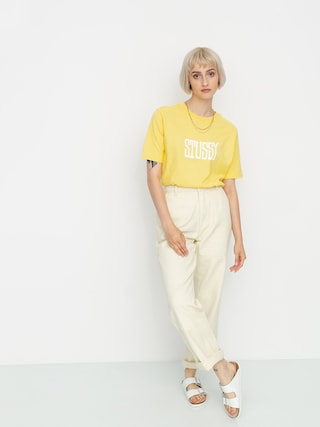 Stussy Tricou Og Wmn (yellow)