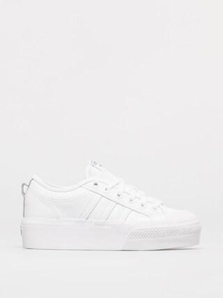 adidas Originals Pantofi Nizza Platform Wmn (ftwwht/ftwwht/cblack)