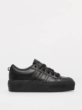 adidas Originals Pantofi Nizza Platform Wmn (cblack/cblack/cblack)