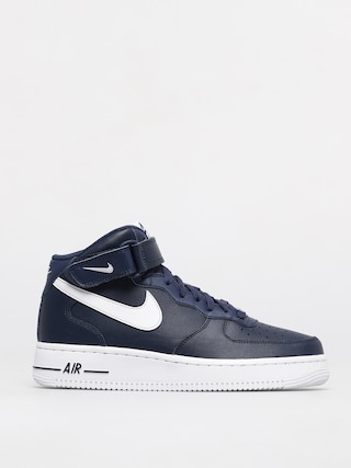 Nike Pantofi Air Force 1 Mid 07 (midnight navy/white)
