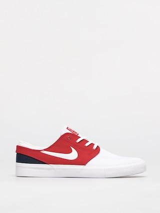Nike SB Pantofi Zoom Janoski Canvas Rm (white/white university red midnight navy)