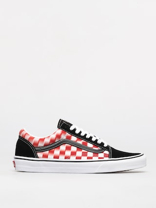 Vans Pantofi Old Skool (blur check/true wht/red)