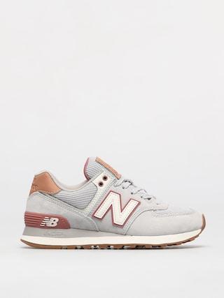 New Balance Pantofi 574 Wmn (grey/pink)