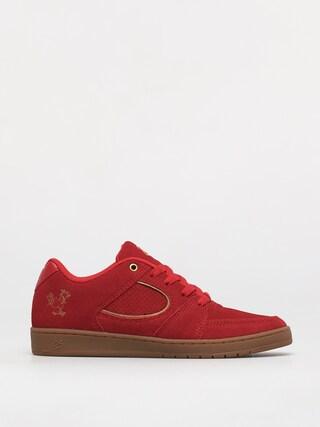 eS Pantofi Accel Slim (red/gold)