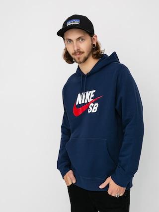 Nike SB Hanorac cu glugu0103 Sb Icon HD (midnight navy/university red)