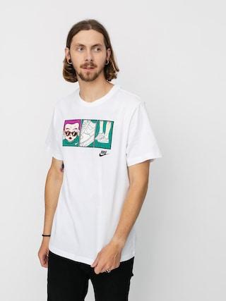 Nike Tricou Sportswear Sneaker (white/black)
