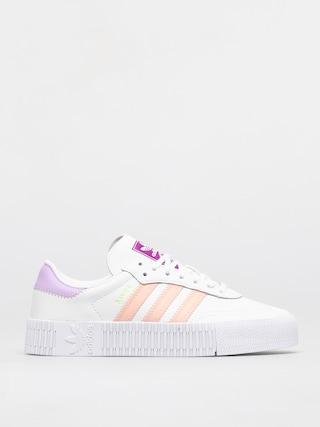 adidas Originals Pantofi Sambarose Wmn (ftwwht/hazcor/shopur)