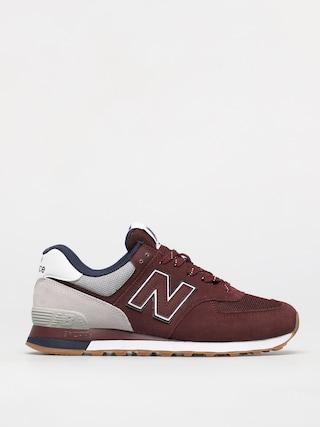 New Balance Pantofi 574 (red)