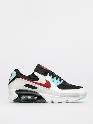 Nike Pantofi Air Max 90 Wmn (summit white/chile red bleached aqua)