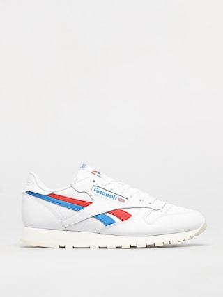 Pantofi Reebok Classic Leather (white/insred/dynblu)