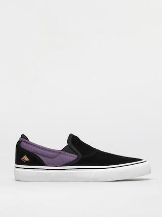 Pantofi Emerica Wino G6 Slip On (black/purple)