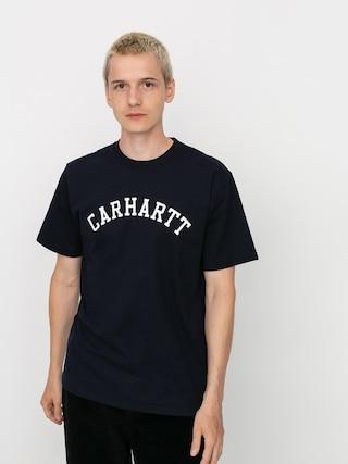Carhartt WIP Tricou University (dark navy/white)