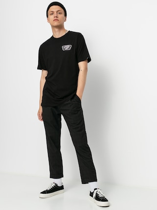 Vans Tricou Full Patch Back (black/cool pink)