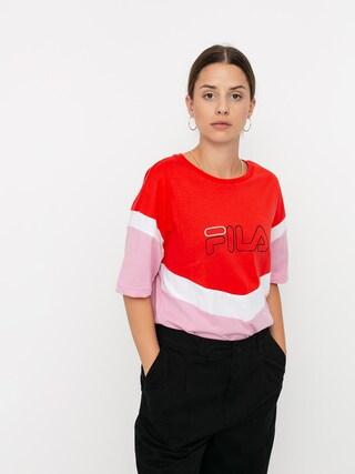 Tricou Fila Laeta Wmn (lilac sachet/poppy red/bright white)
