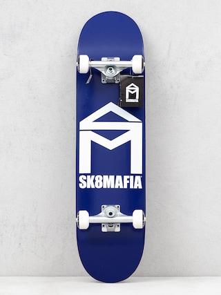 Sk8Mafia Skateboard House Logo (blue)