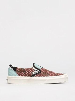 Vans Pantofi Classic Slip On (tiger patchwork/blktrwht)