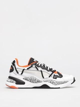 Puma Pantofi Rs 2K Mr Doodle (white/black)