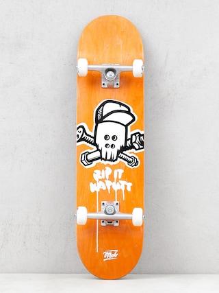 Mob Skateboards Skateboard Skull (yellow)