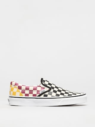 Vans Pantofi Classic Slip On (glitter check/multitrwht)