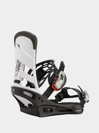 Burton Legu0103turi pentru snowboard Mission (white/black)