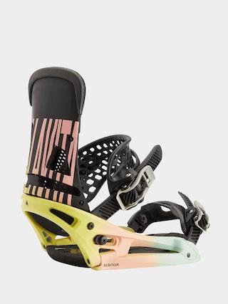 Legu0103turi pentru snowboard Burton Malavita Est (pink/yellow/blue)