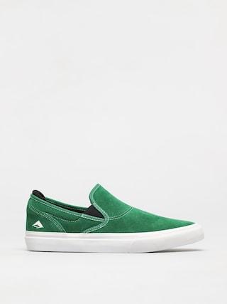Emerica Pantofi Wino G6 Slip On (green/white/black)