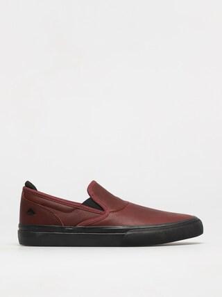 Emerica Pantofi Wino G6 Slip On (oxblood)
