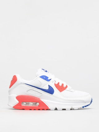 Nike Pantofi Air Max 90 Wmn (white/racer blue flash crimson)