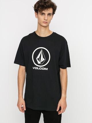 Volcom Tricou Crisp Stone Bsc (black)