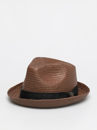 Pu0103lu0103rie Brixton Castor Fedora (brown/black/gold)