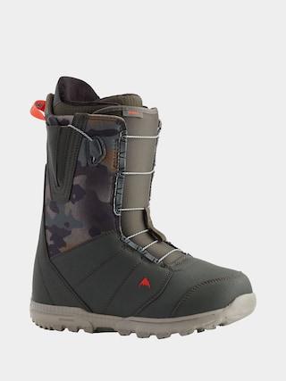 u00cencu0103lu021bu0103minte pentru snowboard Burton Moto (dark green/camo)