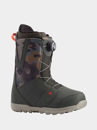 Burton u00cencu0103lu021bu0103minte pentru snowboard Moto Boa (dark green/camo)