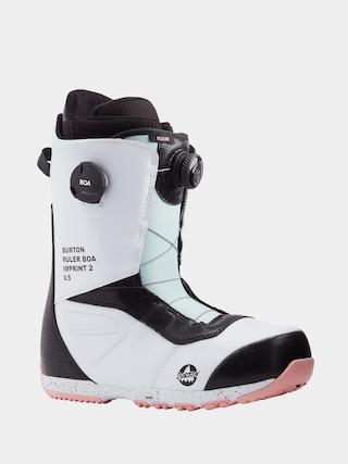 Burton u00cencu0103lu021bu0103minte pentru snowboard Ruler Boa (white/black/multi)