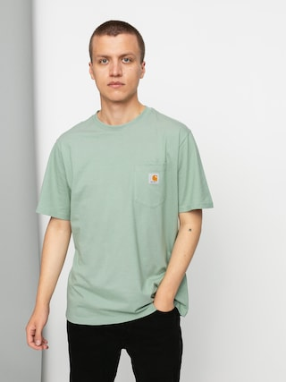 Carhartt WIP Tricou Pocket (frosted green)