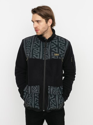 Quiksilver Hanorac din fleece Lost Latitude tec (black)