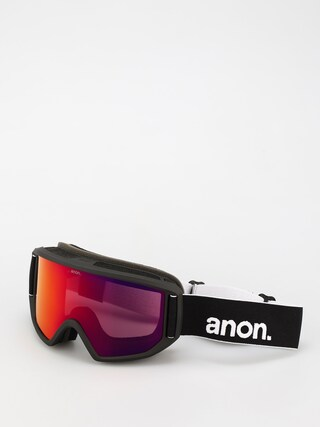 Ochelari pentru snowboard Anon Relapse (black/perceive sunny red)