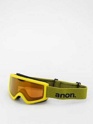 Anon Ochelari pentru snowboard Helix 2.0 Perceive (green/perceive sunny bronze)