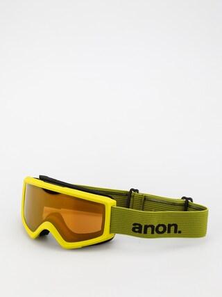 Ochelari pentru snowboard Anon Helix 2.0 Perceive (green/perceive sunny bronze)