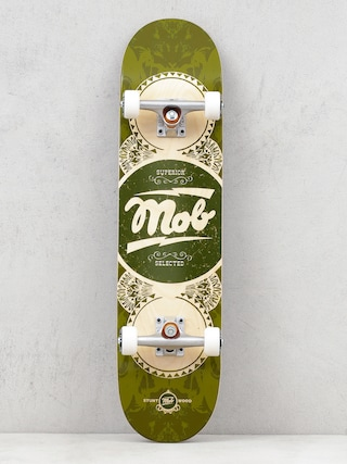 Mob Skateboards Skateboard Gold Label (green)