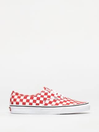 Pantofi Vans Authentic (blur check/true white/red)