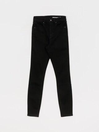 Volcom Pantaloni Liberator High Rise Wmn (premium wash black)