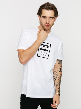 Billabong Tricou Unity Stacked (white)
