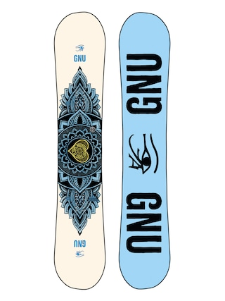 Gnu Snowboard Pro Choice Wmn (blue/black)
