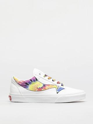 Pantofi Vans Old Skool (warp/true white/tie dye)