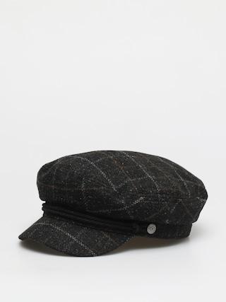 Pu0103lu0103rie cu cozoroc Brixton Fiddler Cap Wmn (black/dark brick)