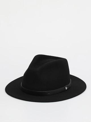 Pu0103lu0103rie Brixton Messer Fedora (black/black)