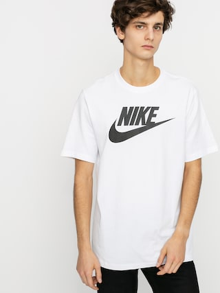 Nike Tricou Sportswear Icon (white/black)