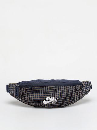 Borsetu0103 de bru00e2u Nike SB Heritage (midnight navy/midnight navy/white)