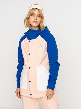 Burton Geacu0103 de snowboard Eastfall Wmn (lapis blue/peach melba/stout white)